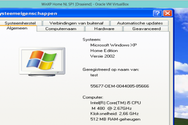 Oude software
