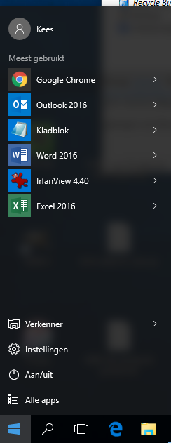Windows 10 Verkenner